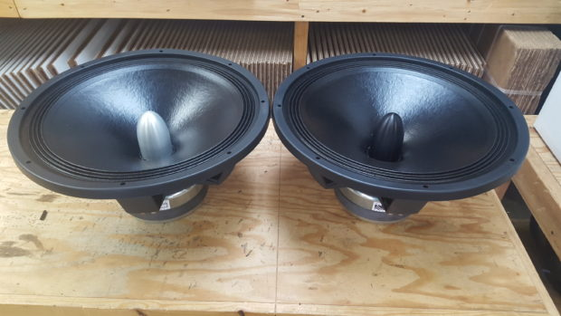 Acoustic Elegance woofers available for immediate shipment