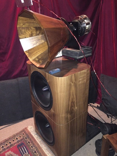UB151 with Acoustic Horn Company AH300 - 3