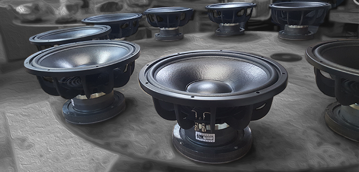 Current woofers available for IMMEDIATE SHIPMENT!
